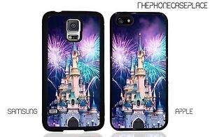 Disney Castle Paris Disney Land Princess Castle for Apple or Samsung Phone Case