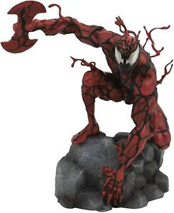 """MARVEL Gallery CARNAGE 9"""" PVC Diorama Toy Figure Statue DIAMOND SELECT SEALED"""