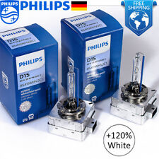 PHILIPS D1S Xenon White Vision Gen2 5000K +120% 85415WHV2C1 35W Headlight Bulbs