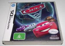 Cars 2 Disney Pixar Nintendo DS 2DS 3DS Game *No Manual*