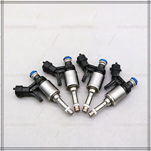 New 4PCS Fuel Injectors 13537528351 For Mini Cooper 1.6L 2007-2009