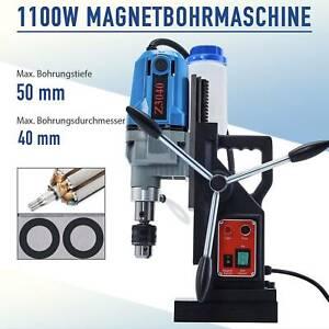 1100W Magnetbohrmaschine Kernbohrmaschine Kern Bohrmaschine mit Kühlmitteltank *