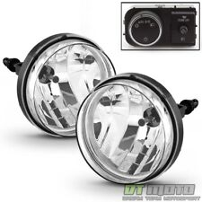 2007-2013 GMC Sierra Bumper Fog Lights Driving Lamps w/ OE Style Switch & Bulbs