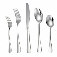 LIANYU 20-Piece Silverware Flatware Cutlery Set, Stainless Steel Utensils