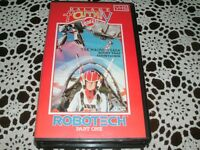 ROBOTECH PART ONE PALACE FAMILY VIDEO~VHS PAL VIDEO~RARE