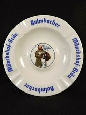 Monchshof Brau Ashtray Kulmbacher Altenkunstadt Bavaria Porcelain