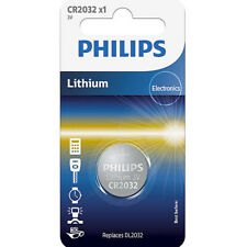 Philips cr2032 button battery lithium