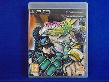 ps3 JOJO'S BIZARRE ADVENTURE All Star Battle Fighting Game Playstation PAL UK