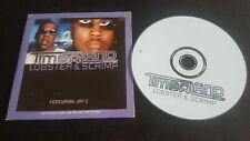 Timbaland – Lobster & Scrimp CD Single Promo Cardsleeve