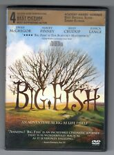 """Big Fish"" Dvd. Combined Shipping On Multiple Items."