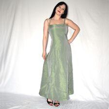 zart grünes SATIN COCKTAILKLEID* 42 glänzendes Partykleid* Abendkleid* Ballkleid