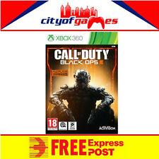 Call of Duty Black Ops 3 Includes Black OPS 1 DLC Xbox 360 New & Sealed In Stock