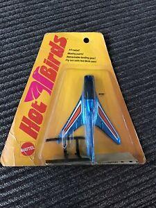 1970 MATTEL HOT BIRDS SKI GULL 6078 BLUE AND ORANGE NEW ORIGINAL PACKAGE