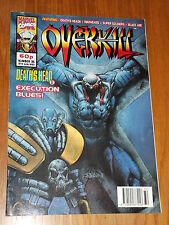 OVERKILL #35 MARVEL BRITISH MAGAZINE 13 AUGUST 1993 WARHEADS DEATHS HEAD II (A)^