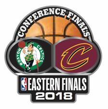 2018 NBA EASTERN CONFERENCE DUELING TEAM PIN CLEVELAND CAVALIERS BOSTON CELTICS