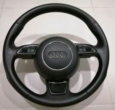 Genuine 2012-2017 Audi A6 C7 Paddle Shift Leather Steering Wheel S4 A3 A4 A5