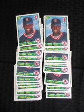 1990 Score Mo Vaughn 46 Card Rookie Lot Red Sox MINT