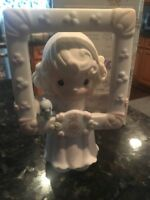 Precious Moments Figurine You're As Pretty As A Picture 1996 C0016 Framed MIB
