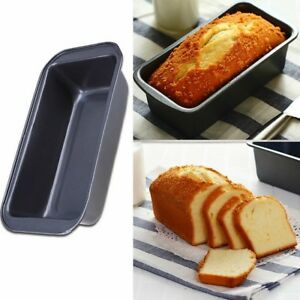 Keraiz 2LB 900g Non Stick Loaf Pan Baking Fruit Cake Bread Tin Oven Tray