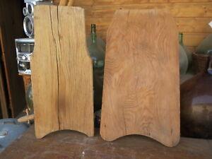 Ancienne Planche à Laver en Bois Lavandière - Art Populaire - outil de métier