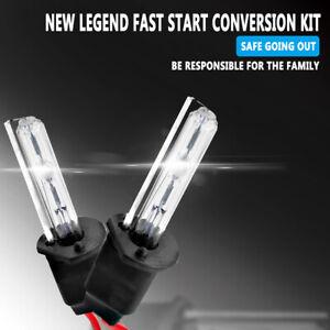 H1 55W Headlight 8000K HID Xenon Light Conversion Kit Slim Digital Ballast White