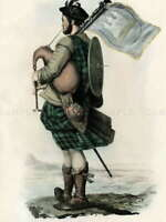 112353 PORTRAIT HIGHLAND CLAN SCOTLAND MACCRIMMON Decor LAMINATED POSTER FR