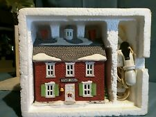 "Department 56 New England Village ""Brick Town Hall"""