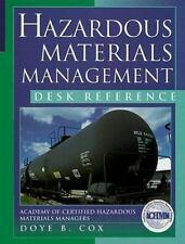 Hazardous Material Management Desk Reference