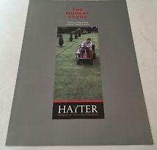 HAYTER Murray Ride-Ons & Lawn Tractors Original 1980s Vintage Sales Brochure