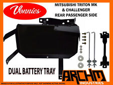 VONNIES TRITON MK CHALLENGER PASSENGER REAR DUAL BATTERY TRAY SYSTEM | 1996-2006