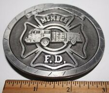 FIRE DEPARTMENT MEMBER Belt Buckle
