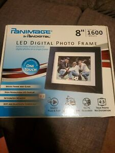 "Pandigital Panimage 8"" LED Digital Photo Frame 1600 Images"