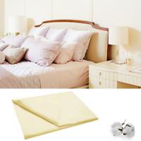 Hotel Bettlaken Laken Betttuch ohne Gummizug 160 200 220 cm 100% Baumwolle ecru