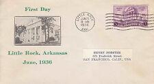 US FDC Sc # 782 Arkansas Centennial with cachet- US 8172