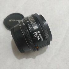 Nikon Nikkor AF 28mm F/2.8 Lens - Clean Example -