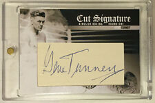 Gene Tunney 2010 Ringside Boxing Round One 1 Cut Signature Autograph Auto #d 1/1