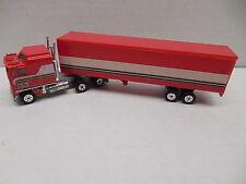 BJ And The Bear YATMING Kenworth K100 COE Aerodyne 108 Semi Truck & Trailer RARE