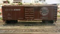 Roundhouse MDC HO  40' Boxcar, Rock Island, 100th Anniversary, Upgraded, Exc.