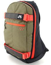 New Mens Nike EMBARCA SB BA4686-011 Brown Red Solar Red Backpack $50