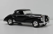 Mercedes-Benz 300 S schwarz 1955 Cabrio geschlossen in 1:34 von welly