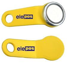 Yellow Magnetic Dallas Key EPOS Fob Fobs ibutton 1-wire