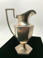 Stieff Colonial Plain Sterling Silver Creamer Pitcher 8.5 Oz - 6.25 Inches