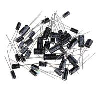 Radial Electrolytic Capacitors 120 Pack 10 each 12 values Kit Set/Assortment/Mix