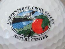 (1) CARPENTER ST CROIX VALLEY NATURE CENTER LOGO GOLF BALL