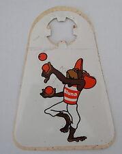 Aufkleber BLUNA Limonade 70er Jahre AFFE Sticker Afri Cola Köln Flaschenanhänger