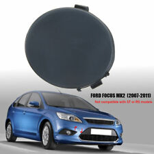 FORD FOCUS 2008 to 2011 NEW FRONT BUMPER TOWING EYE HOOK TRIM COVER UNPAINTED