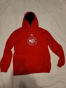 NBA Atlanta Hawks Prime Pullover Hoodie Sweater Red Youth XL