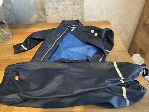 Lego Wear Waterproof Jacket And Trousers Age 4 Good Used