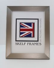 SKELF FRAMES - PEWTER ~  PICTURE PHOTO FRAME with GLASS