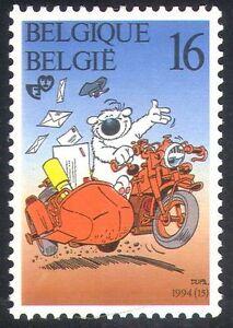 Belgium 1994 Bear/Motorbike/Cartoon/Animation 1v n31904